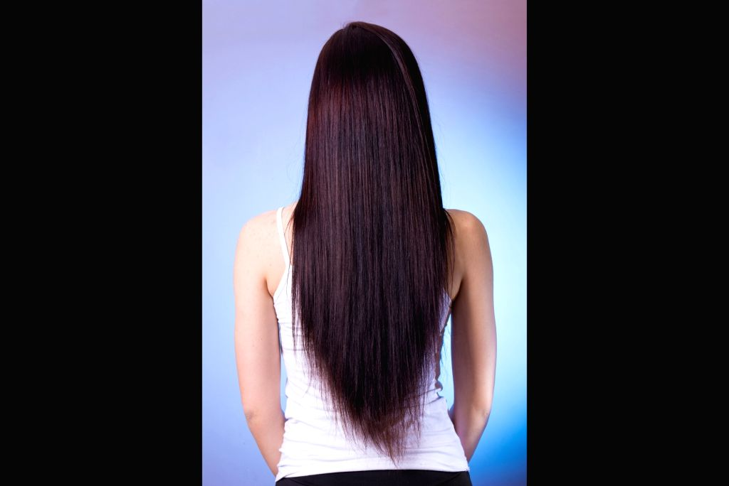 Human hair.