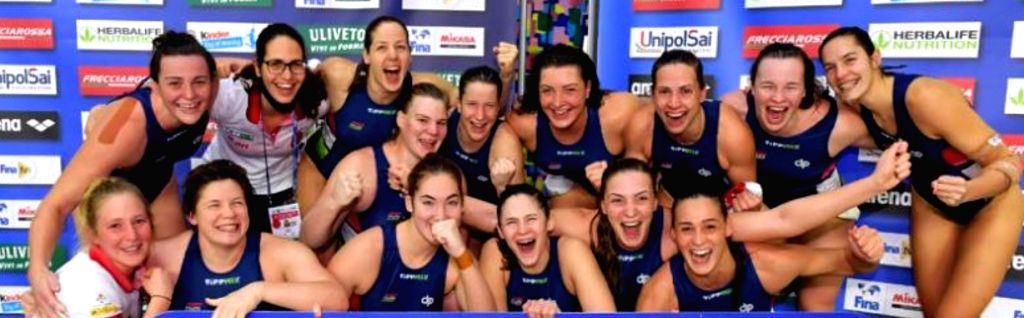 Hungary & Netherlands qualify for Olympics in women's water polo.(photo:http://www.fina.org/)