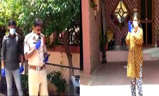 Hyd cop wins hearts by lending voice to NRI's lockdown wish.