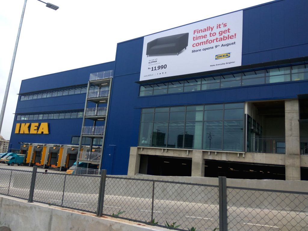 Hyderabad: A view of IKEA's Hyderabad store that turned one, on Aug 9, 2019. (Photo: IANS)