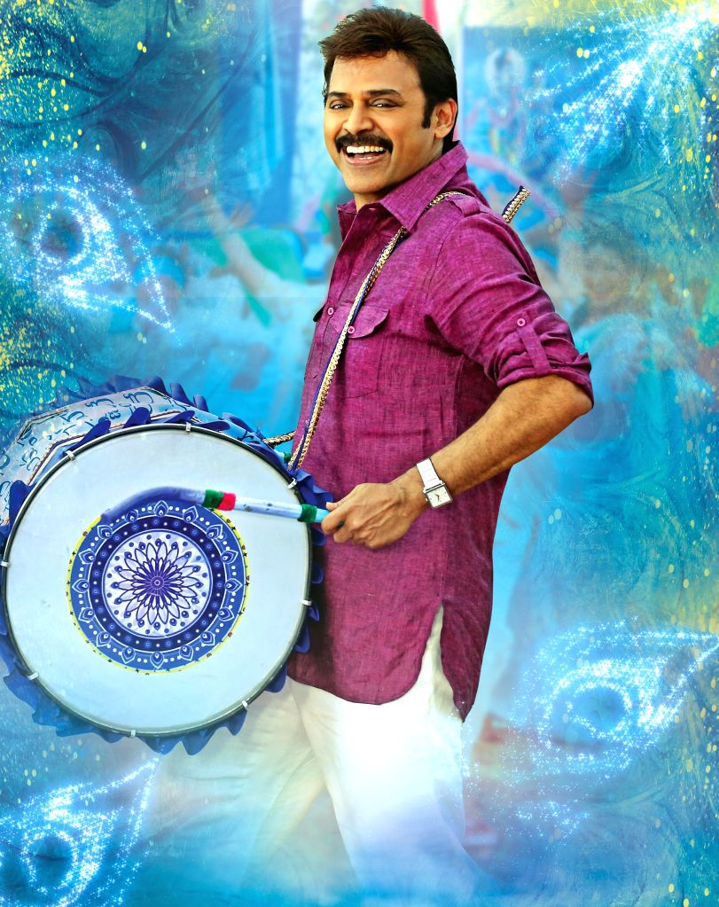 Actor Venkatesh in telugu movie Gopala Gopala.