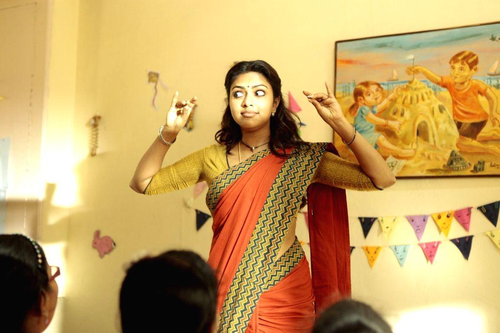 "Hyderabad: Actors Suriya and Amala Paul Starring Movie ""Memu"" stills.  (Photo: IANS) - Suriya and Amala Paul Starring Movie"