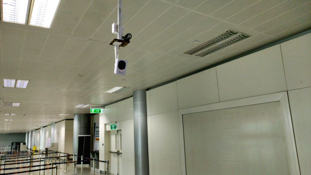 Hyderabad Airport gets mass fever screening system