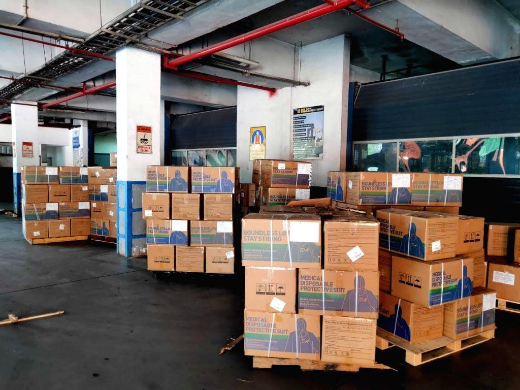 Hyderabad airport handles over 11k oxygen concentrators, 100 tonne vaccines.
