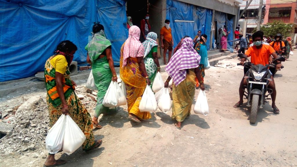 Hyderabad, April 22 (IANS) Distribution of cooked food and ration among the poor and needy in different parts of Hyderabad and its outskirts during the ongoing lockdown has been affected by the controversial move by the municipal authorities to cance