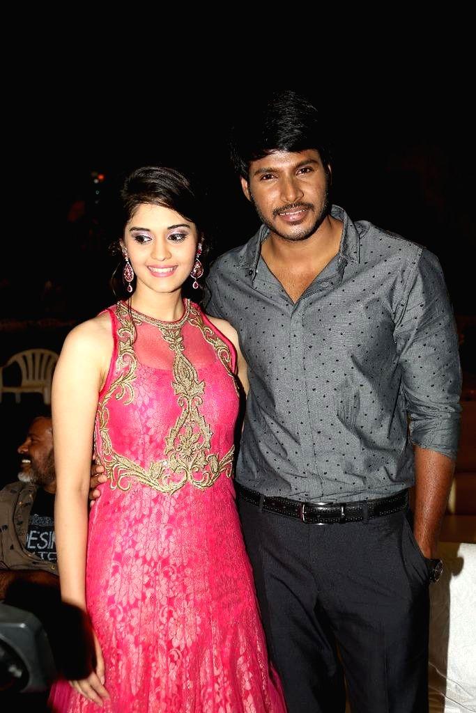 Audio launch of Telugu film Beeruva at Ramoji FIlm City in Hyderabad.