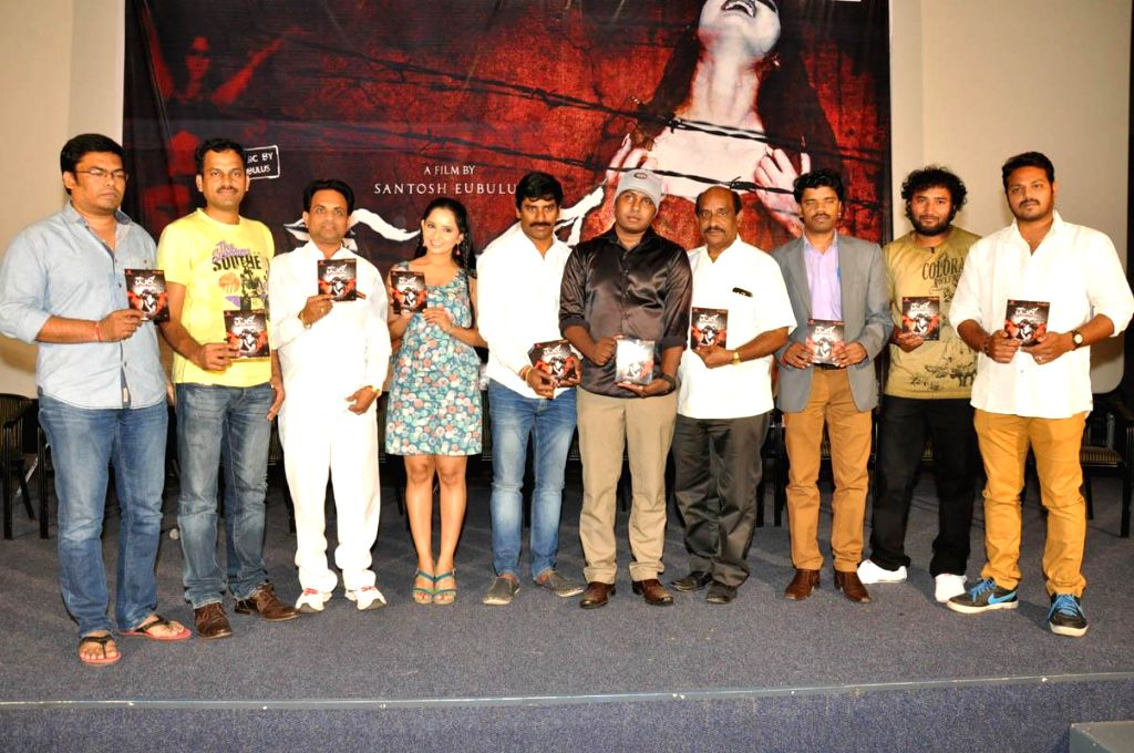 Audio launch of Telugu film Meera .