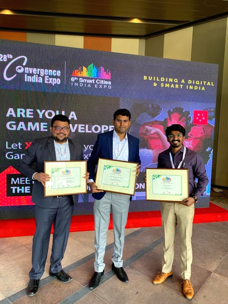 Hyderabad bags three smart city awards.