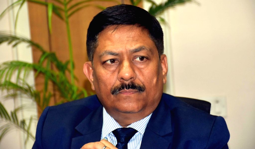 Hyderabad: Bharat Dynamics Limited (BDL) Chairman and Managing Director Commodore Siddharth Mishra (Retd) addresses a press conference in Hyderabad on July 16, 2019. (Photo: IANS) - Siddharth Mishra
