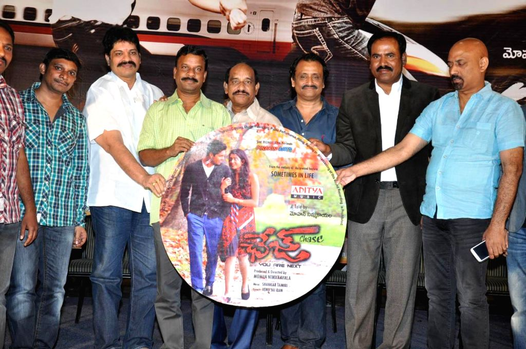 Chase film audio release function held at Prasad Labs in Hyderabd on Nov 13, 2014.