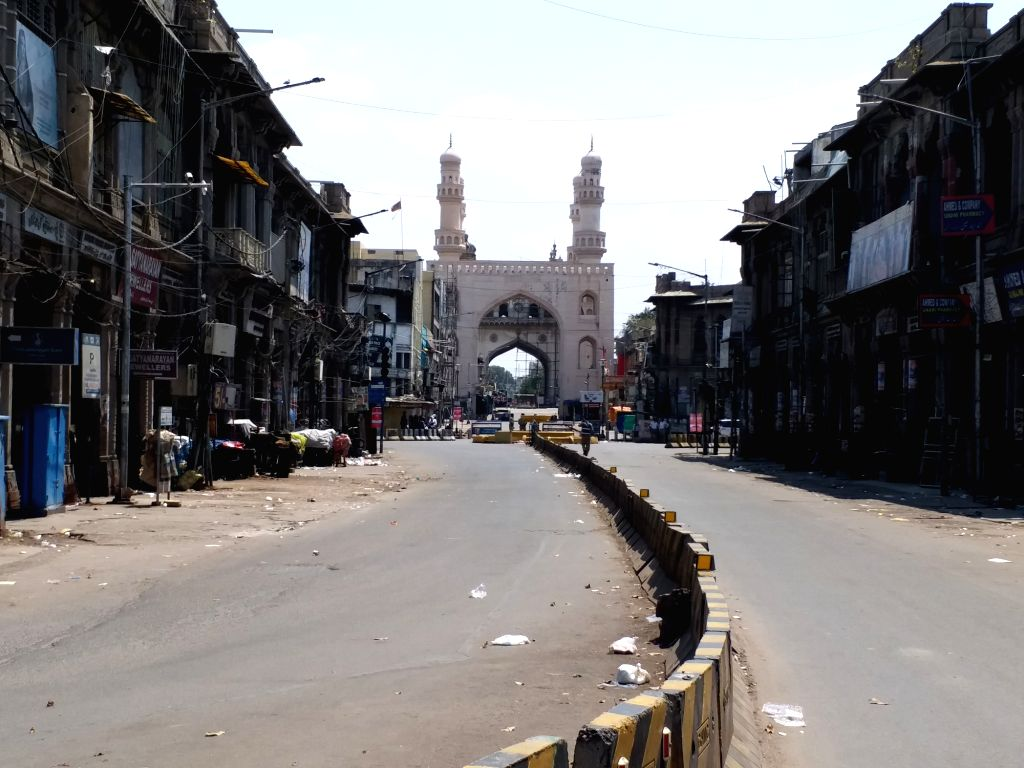 Hyderabad comes to a standstill during 'Janata Curfew' imposed to contain the spread of COVID-19 (coronavirus), on March 22, 2020.