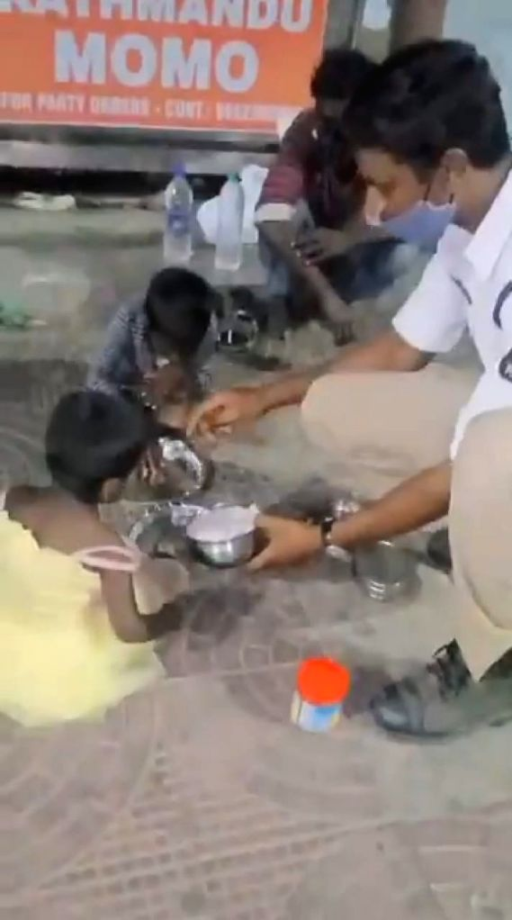 Hyderabad cop's act of kindness winning hearts