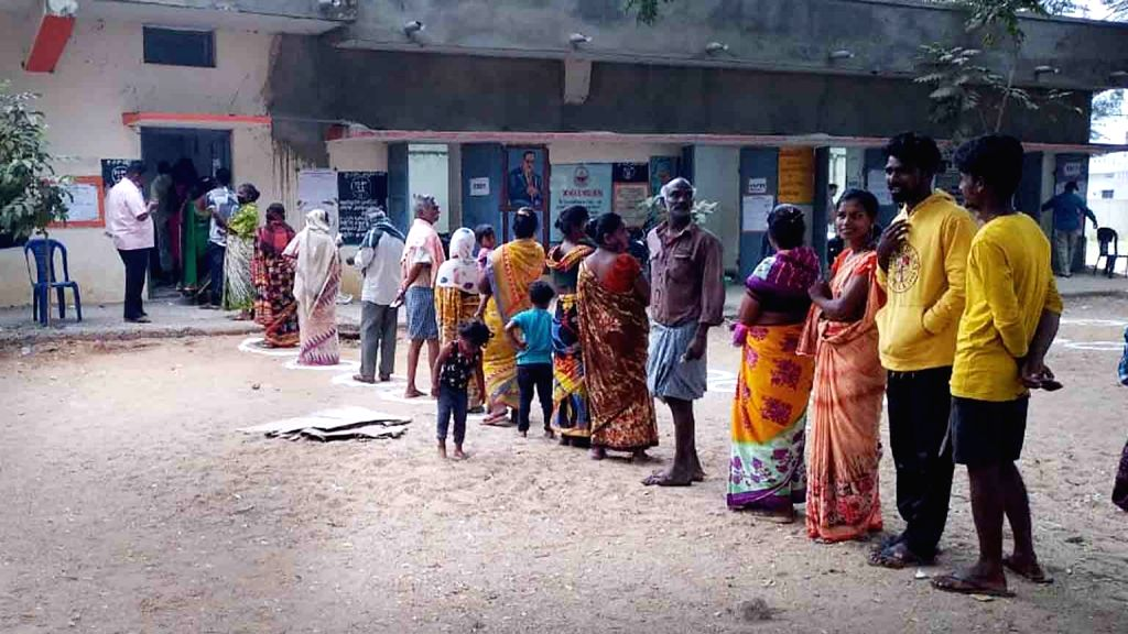 Hyderabad :  Final phase of Andhra Pradesh panchayat elections on Sunday 21th February 2021.