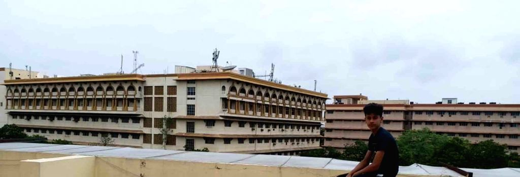 Hyderabad: Furniture and vehicles at the old Secretariat building being shifted to Nizam College Grounds in Hyderabad on July 1, 2020. This comes after the Telangana High Court on Monday permitted demolition of the existing structures, paving the way