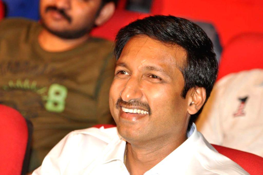 Gopichand during audio lanch of film Jil at Shilpa Kalavedika.
