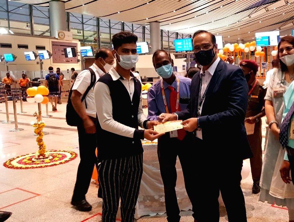 Hyderabad - Hubli flights recommence from Wednesday.