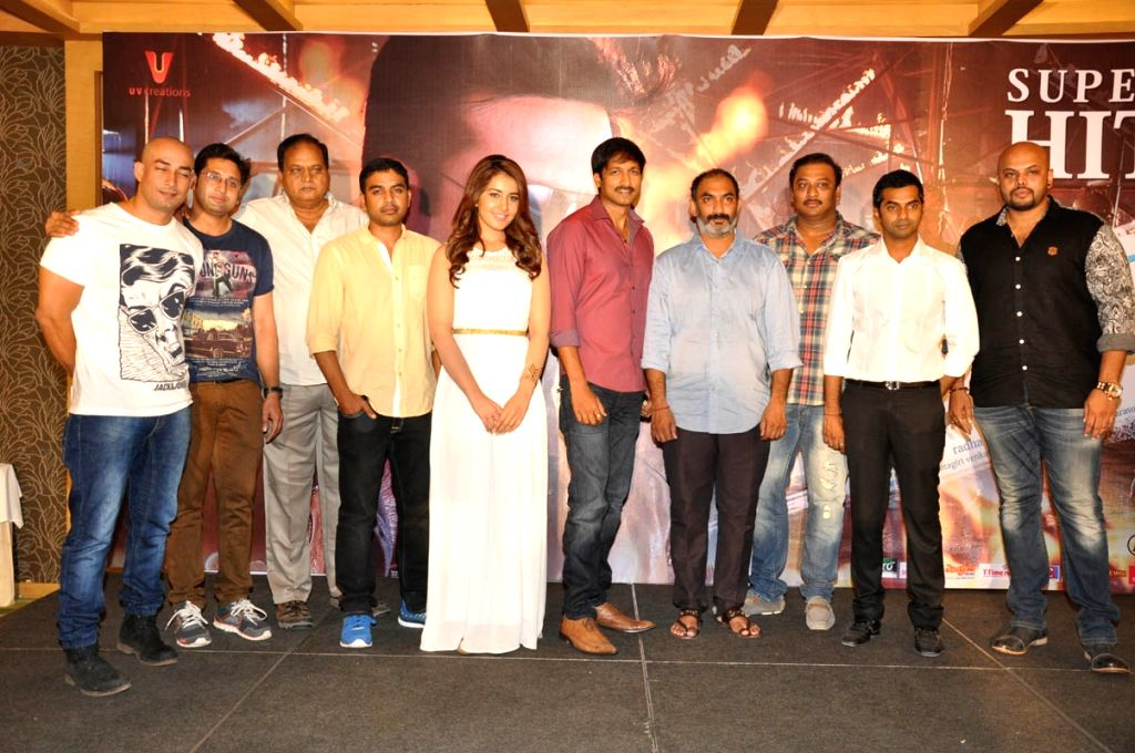 Jil Success meet held at Hyderabad on Moanday (30th March) evnieng .