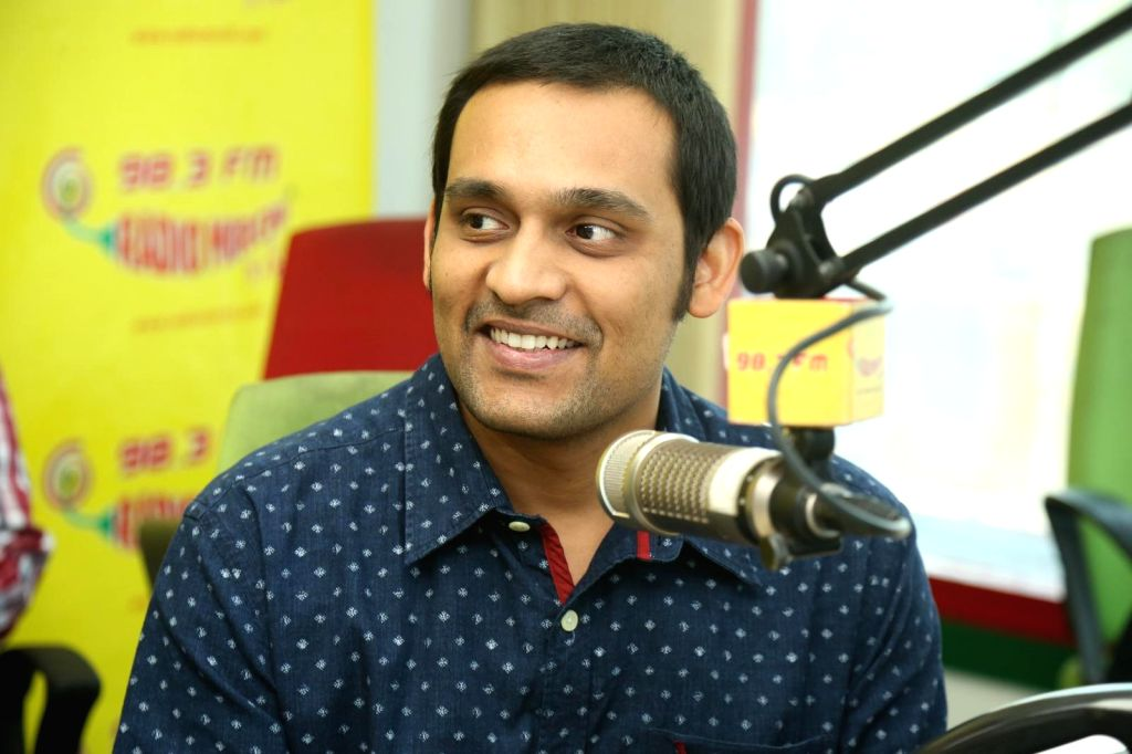 Kerinta song launch held at Radio Mirchi FM in Hyderabad today (13th April) afternoon.
