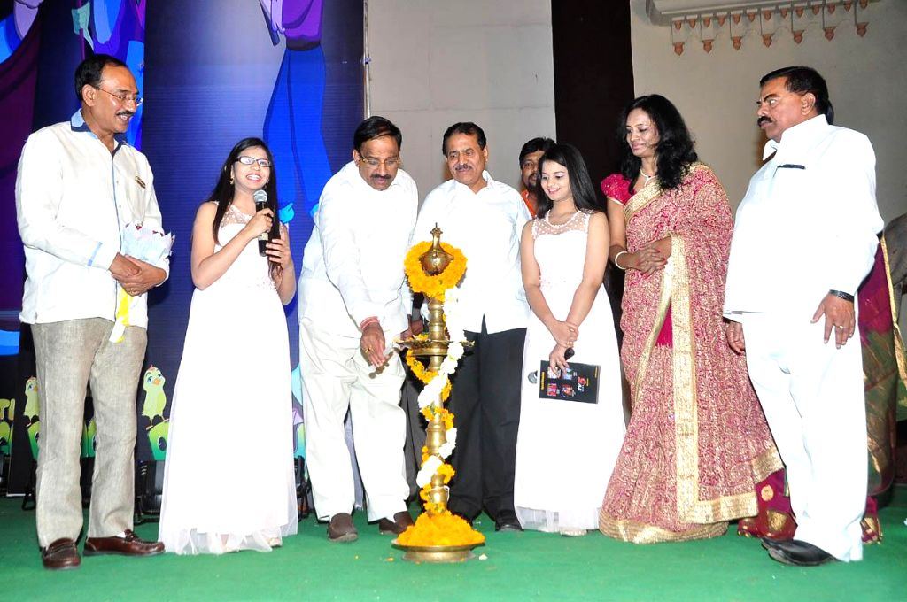 Little Dragon 2D animation movie trailer launch held in Hyderabad on Feb 23, 2015.