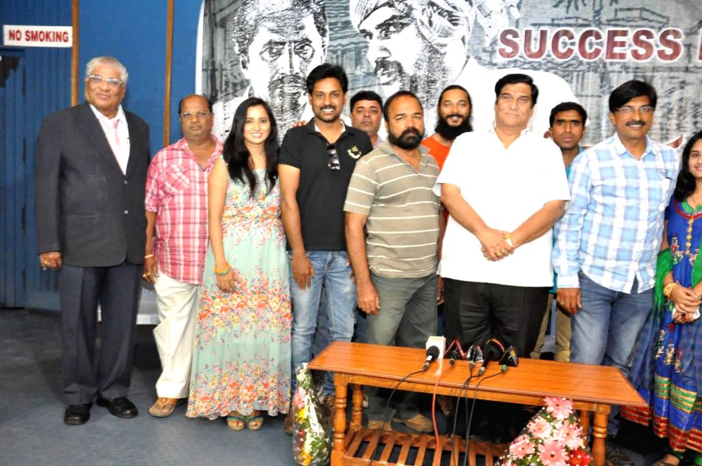 Malli Radoi Life success meet  held in Hyderabad, on Nov 19, 2014.