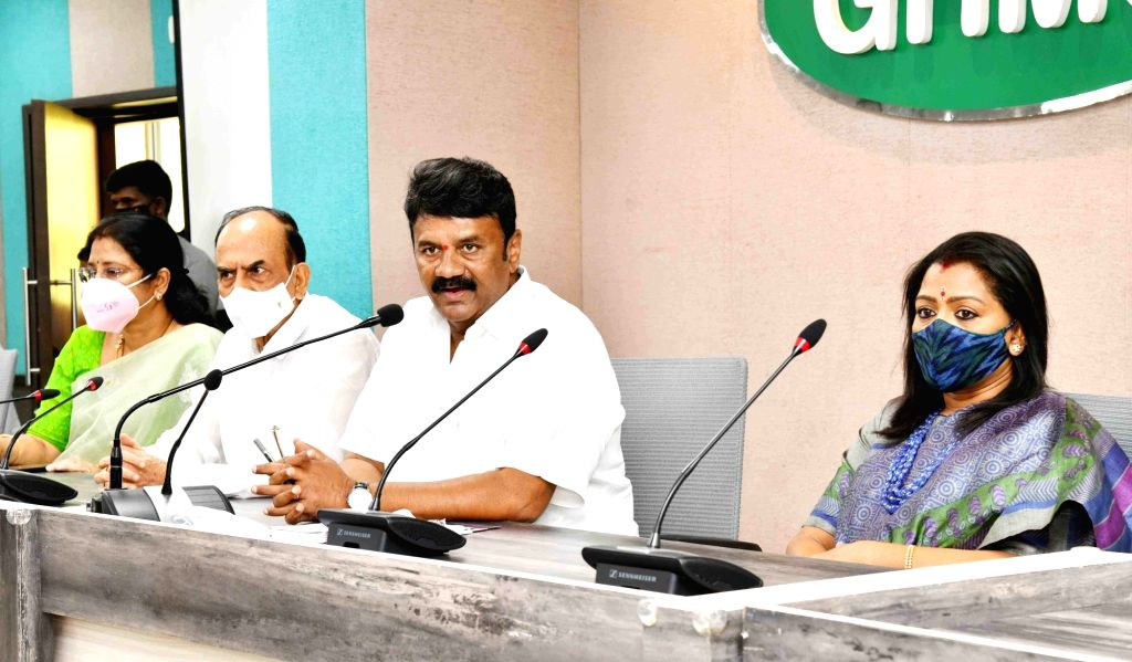 Hyderabad : Ministers Talasani Srinivas Yadav and Mahmood Ali  addressing  high level review meeting was held on  various government departments are working effectively in coordination for the ... - Talasani Srinivas Yadav and Mahmood Ali
