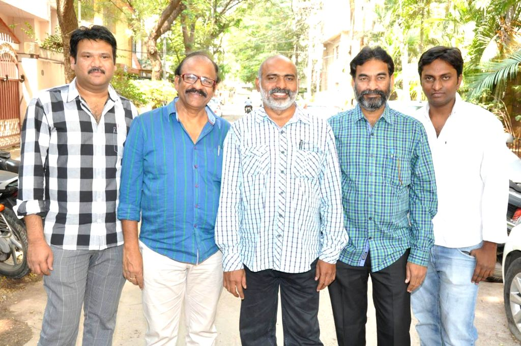 Miss Leelavathi movie Press meet held in Hyderabad, on March 7, 2015.