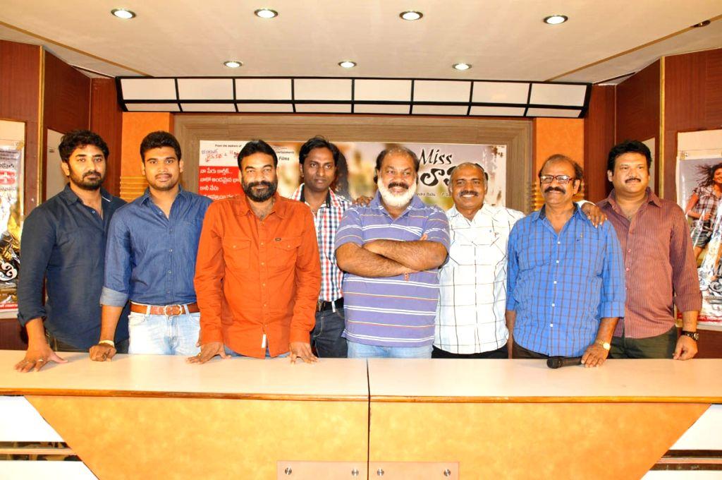 Miss Leelavathi Press meet stills
