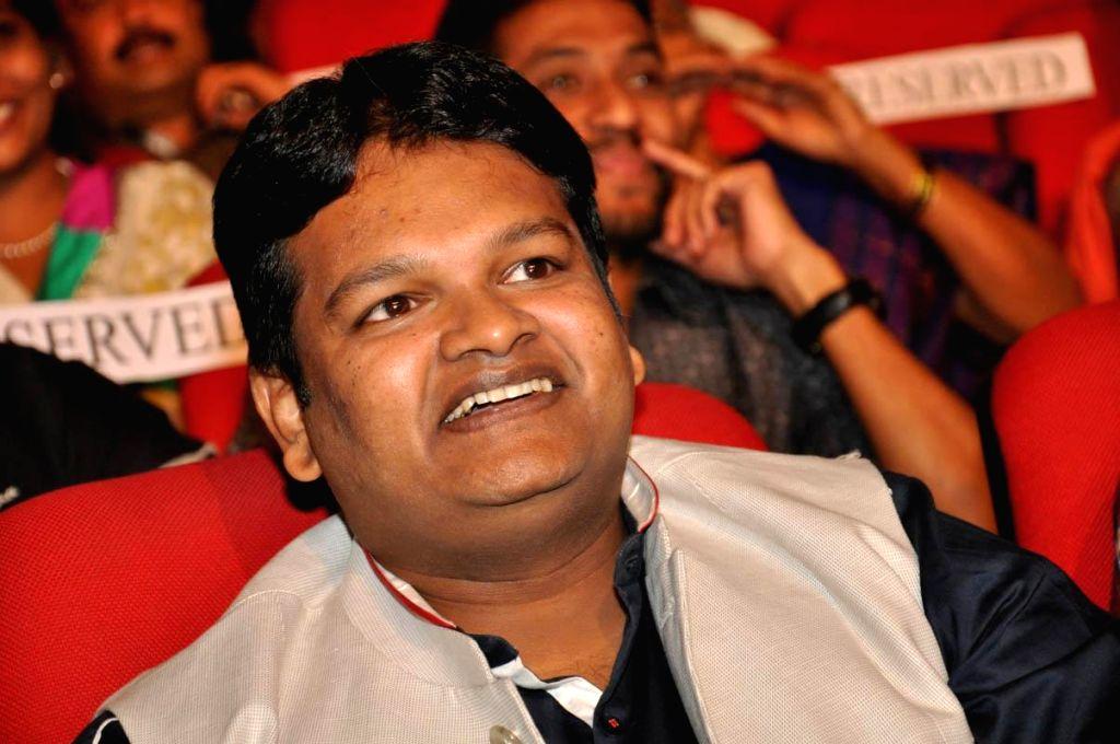 Music Director -Ghibran during audio lanch of film Jil at Shilpa Kalavedika.