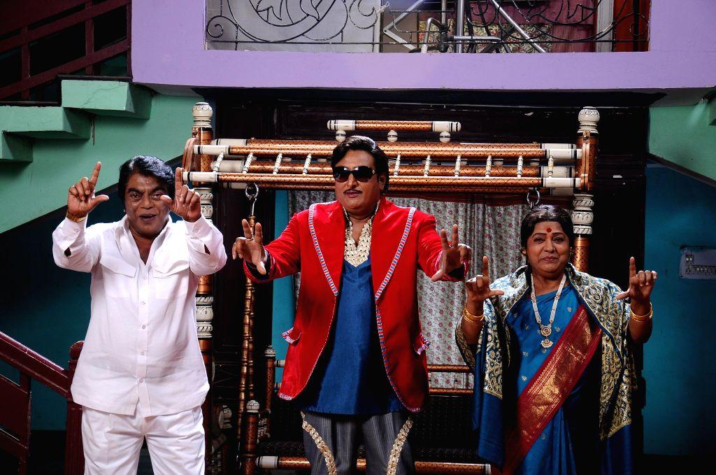 Photos from Telugu film `A Shyam Gopal Varma`.