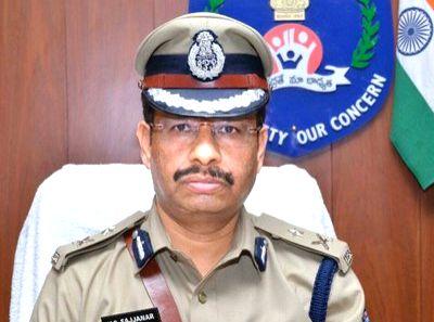 Hyderabad Police Commissioner Sajjanar