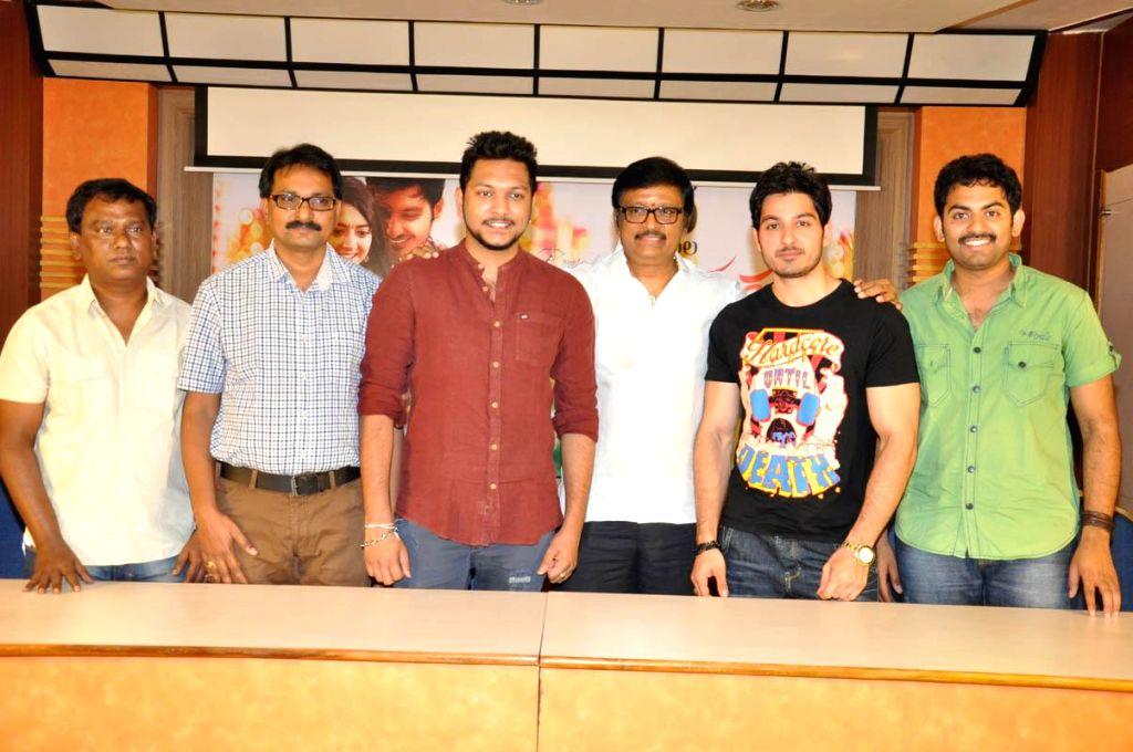 Press meet of film Gayakudu