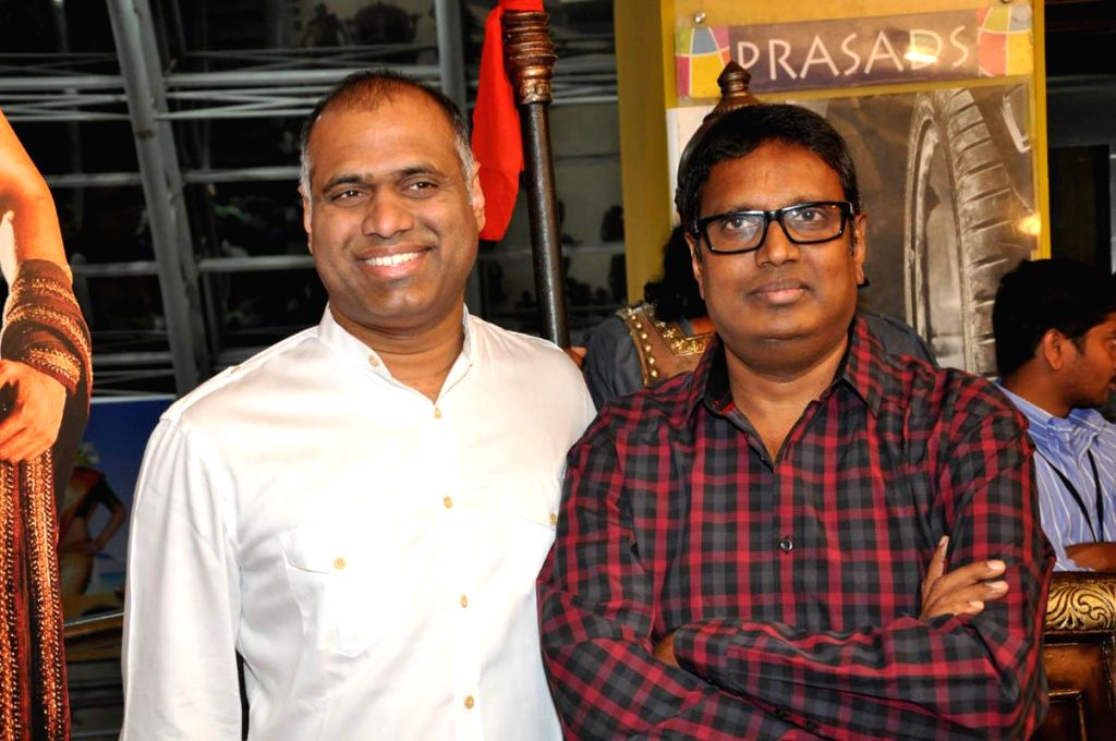 Rudramadevi Movie Trailer Launch held at Hyderabad on Sunday (28th Feb) evening.