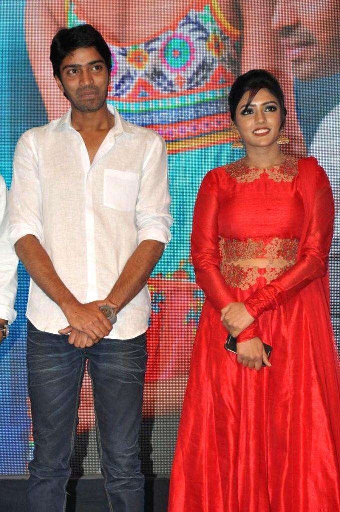 Stills from Telugu film audio launch`Bandipotu`.