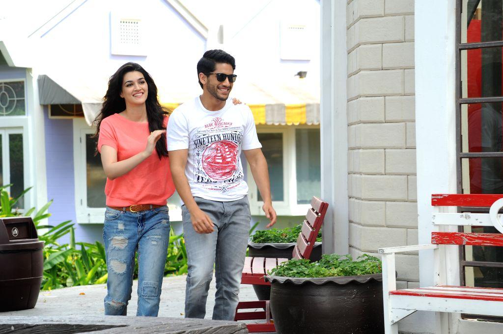 Stills from Telugu film `Dohchay`.