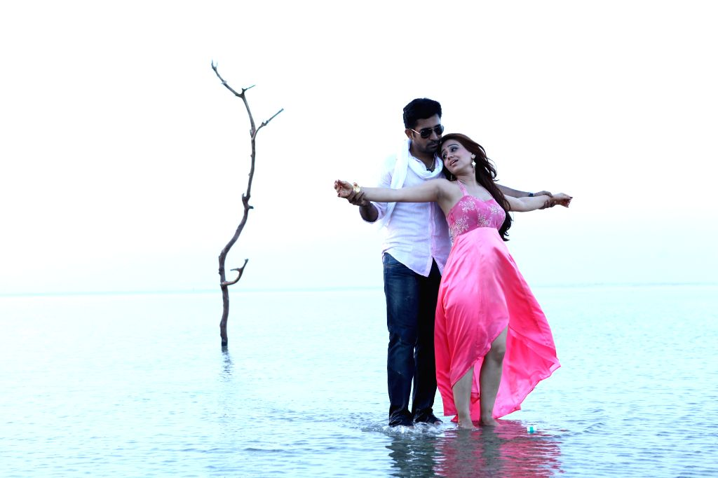 Stills from Telugu film `Dr. Saleem`.