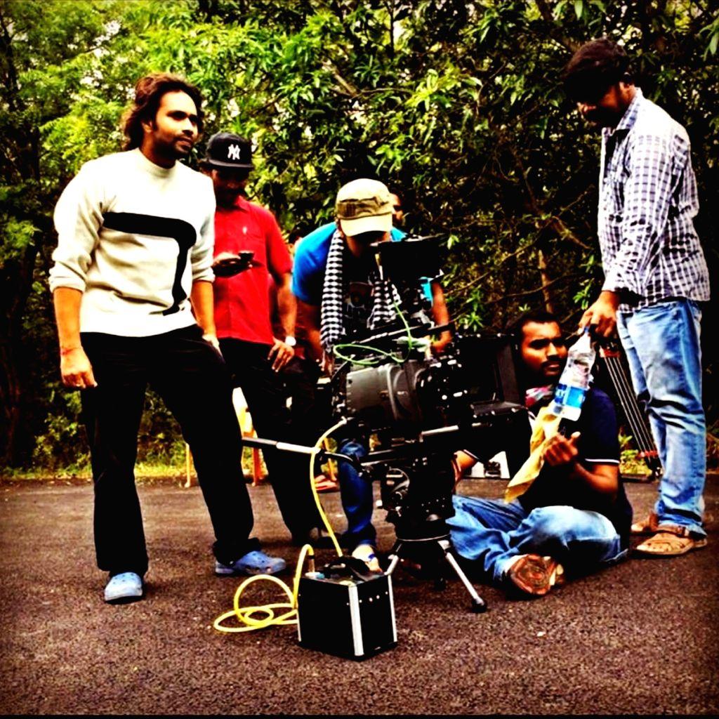 Stills from Telugu film `Friend Request`.