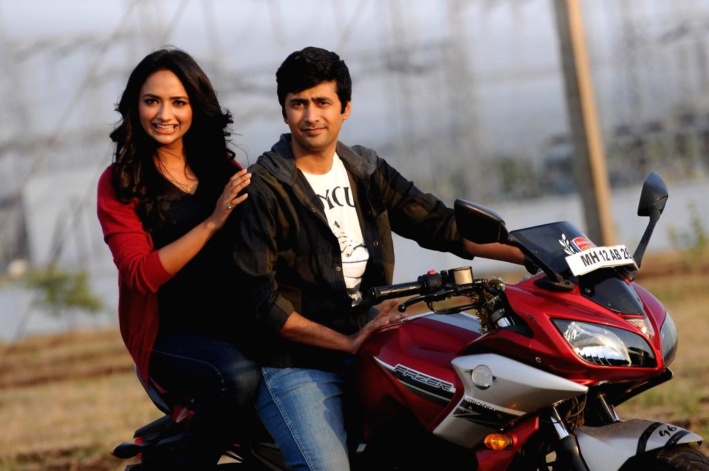 Stills from Telugu film `Hyderabad Love Story`.