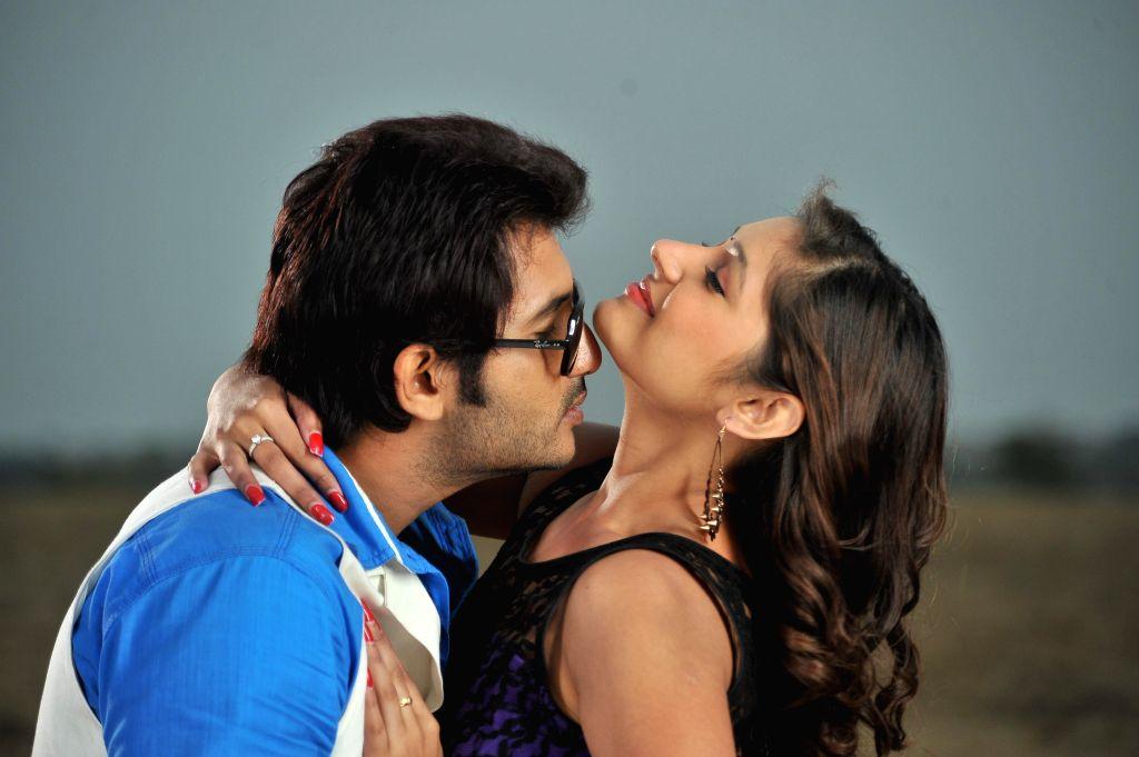 Stills from Telugu film `Intelligent Idiots`.