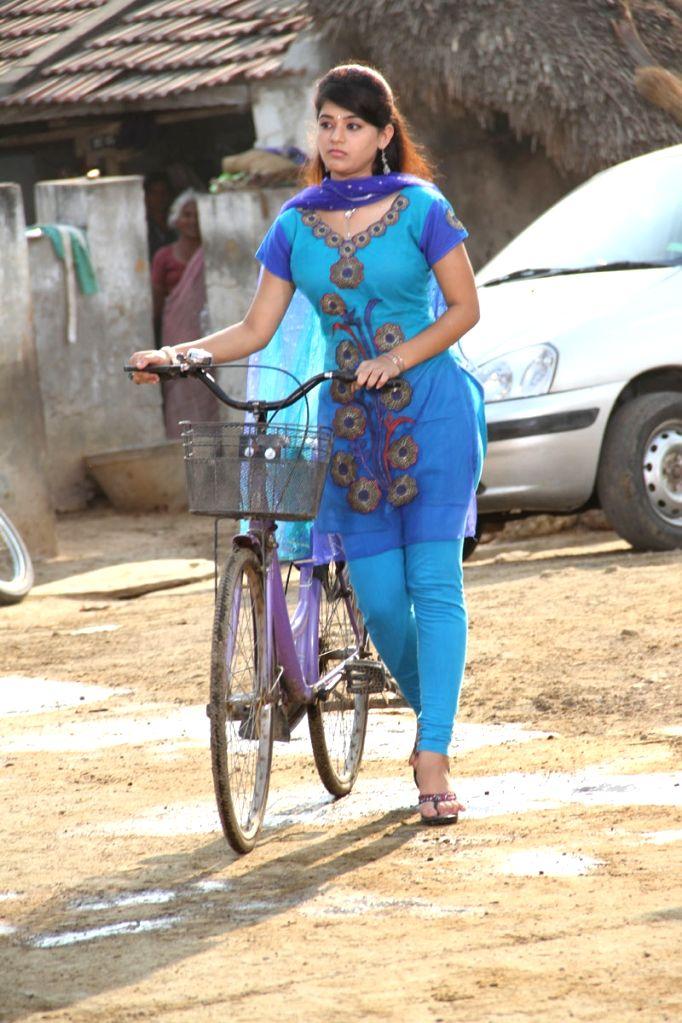 Stills from Telugu film `Kakateeyudu`.