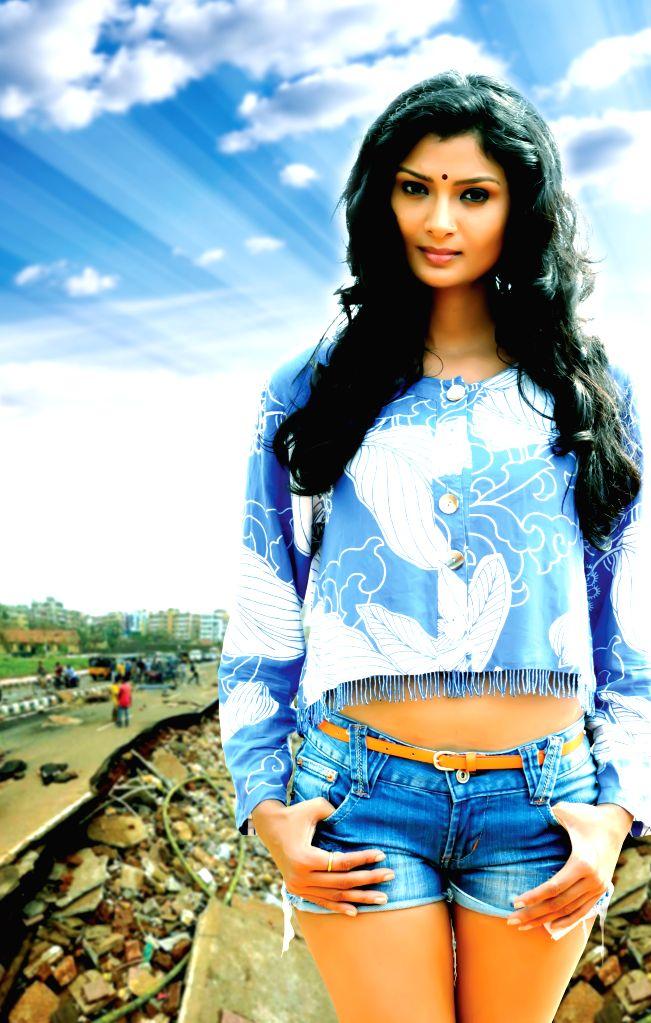 Stills from Telugu film `Miss Leelavathi`.