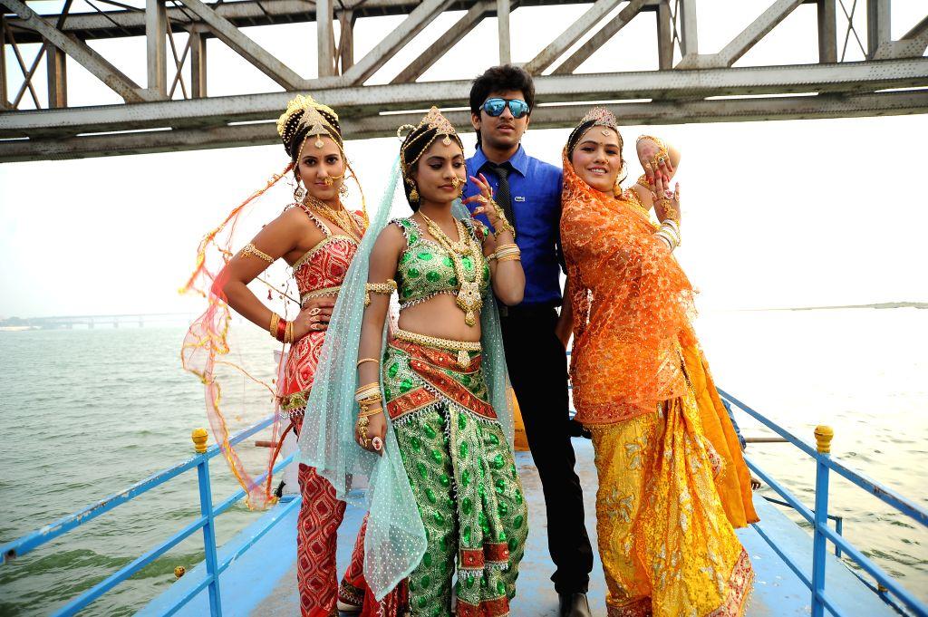 Stills from Telugu film `Ory Devudoy`.