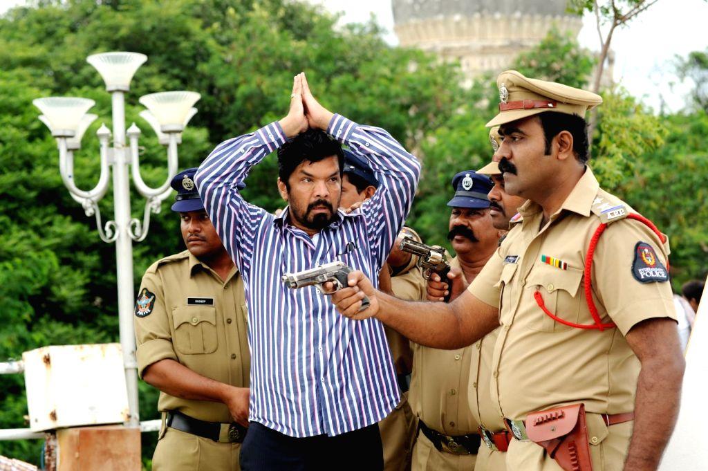 Stills from Telugu film `Red Alert`.