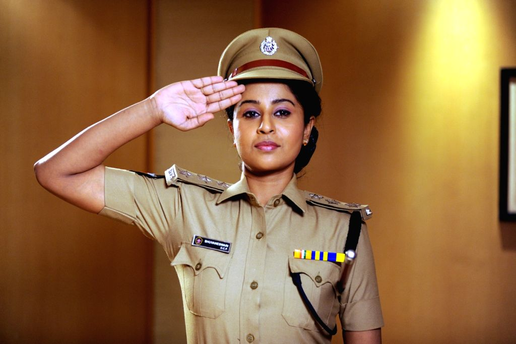 Stills from Telugu film `Red Alert `.