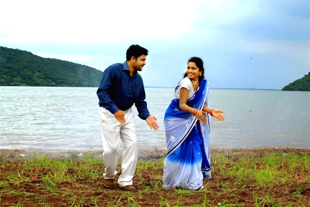 Stills of telugu movie Thavarana Pathai in Hyderabad.