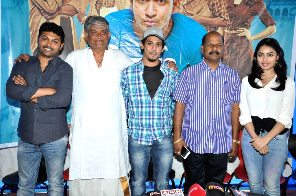 Surya V/s Surya Success meet held today (09th Mar) morning in Hyderabad.