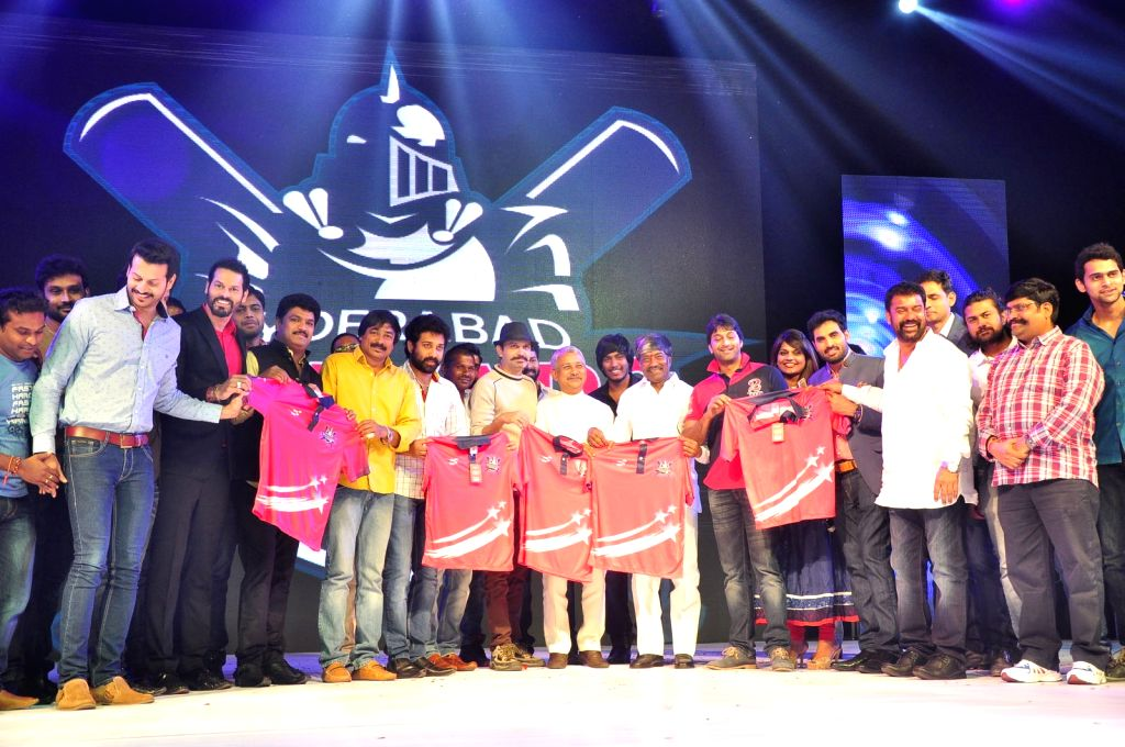 Hyderabad Talwars League Launch Photos.