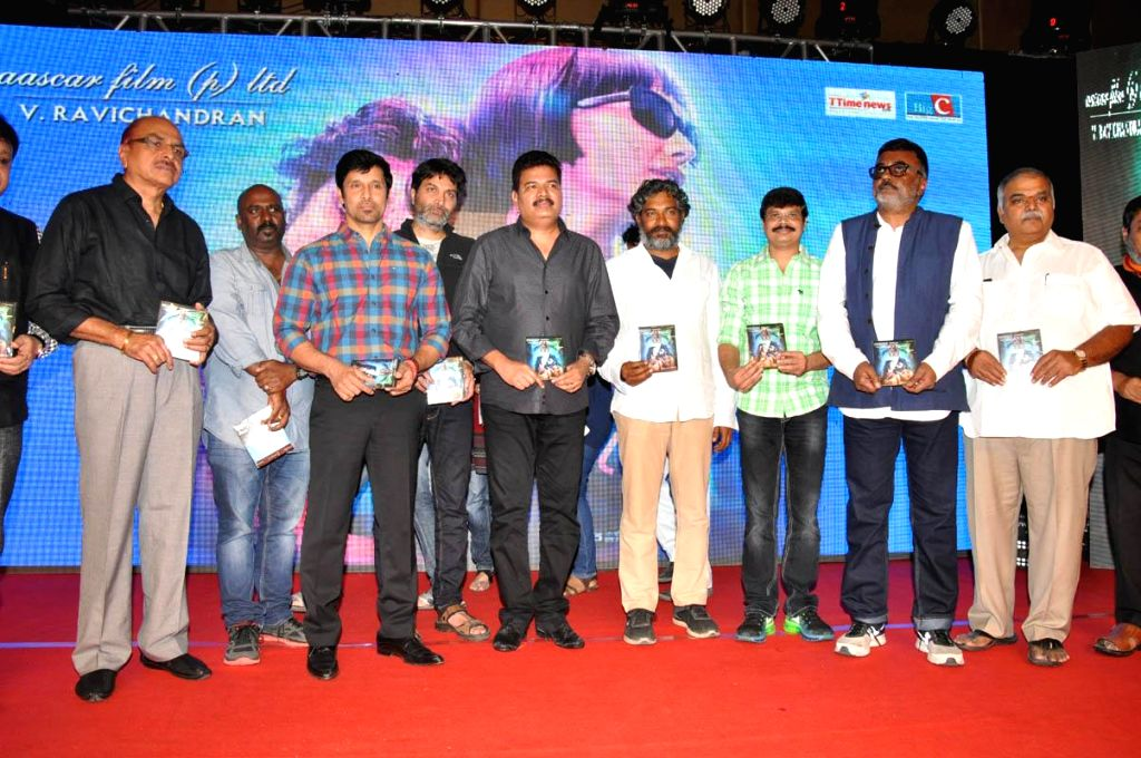 Tamil Movie Vikram acted 'Ai '  film audio release launch at at Part Hotel in Hyderabad on 30th  Dec, 2014