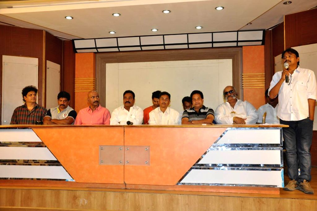 *Telangana Movie Chamber Association Press meet held today (20th March) morning at Hyderabad*.