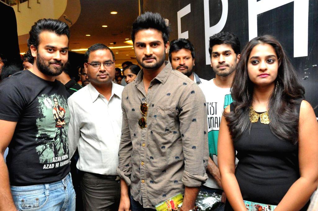 Telugu Movie Krishnamma Kalipindi Iddarini music launch at Sujana Shopping Maal in Hyderabad on 15th February 2015.