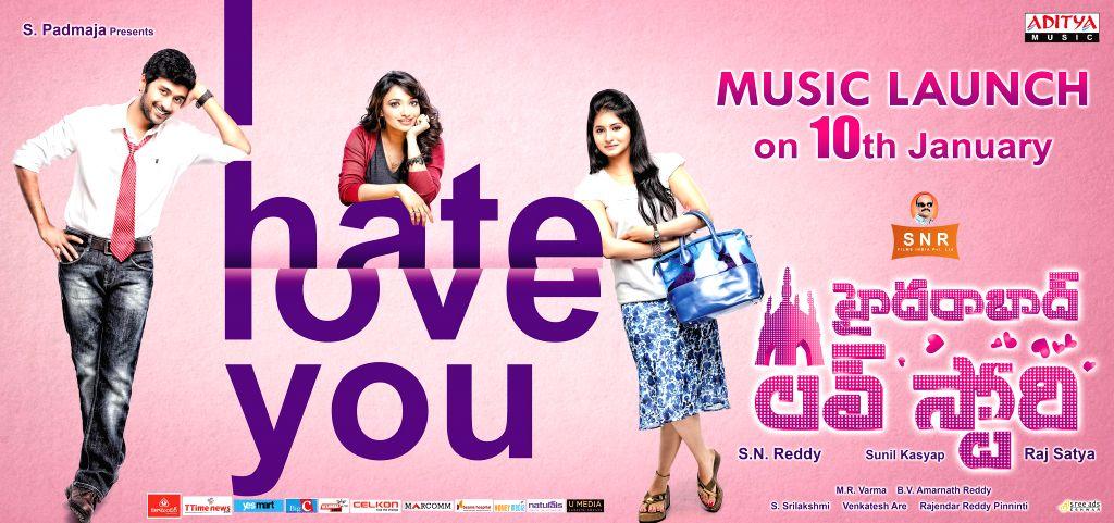 Hyderabad : Telugu movie Love Story Poster